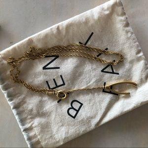Madewell Wishbone Necklace